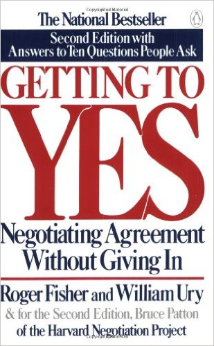 Getting to Yes by William L. Ury