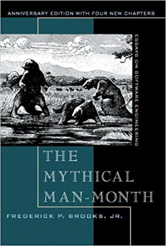 The Mythical Man-Month by Fred Brooks