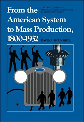 From the American System to Mass Production by Daivd Hounshell
