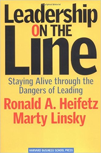 Leadership on the Line by Martin Linsky